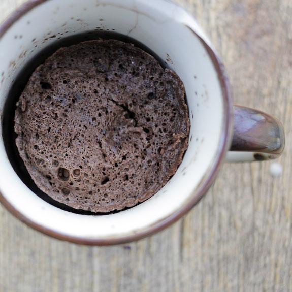 how to make microwave chocolate mug cake