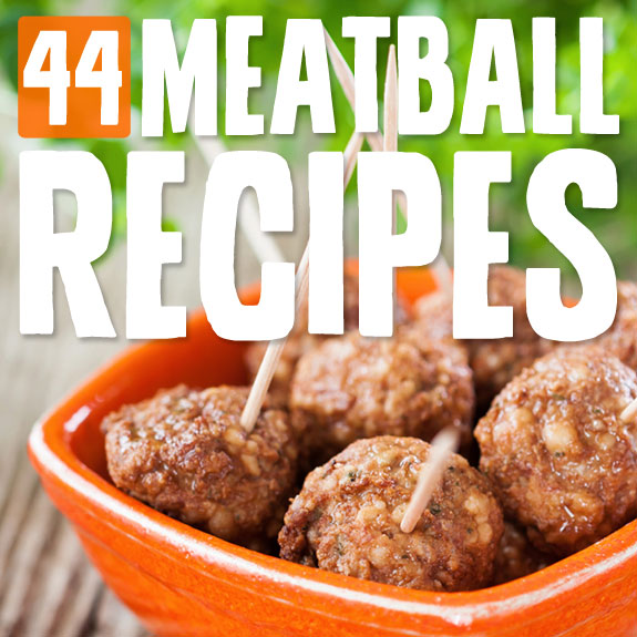 44 Meatball Recipes- so many great meatball recipe variations are on this list!