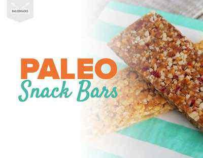 Paleo Snack Bars