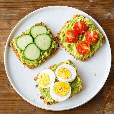 The Best Cauliflower Avocado Toast