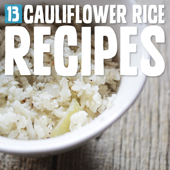 "Cauliflower ""rice"" is a delicious alternative and substitute for white rice. It's actually really tasty, wholesome and low-carb."