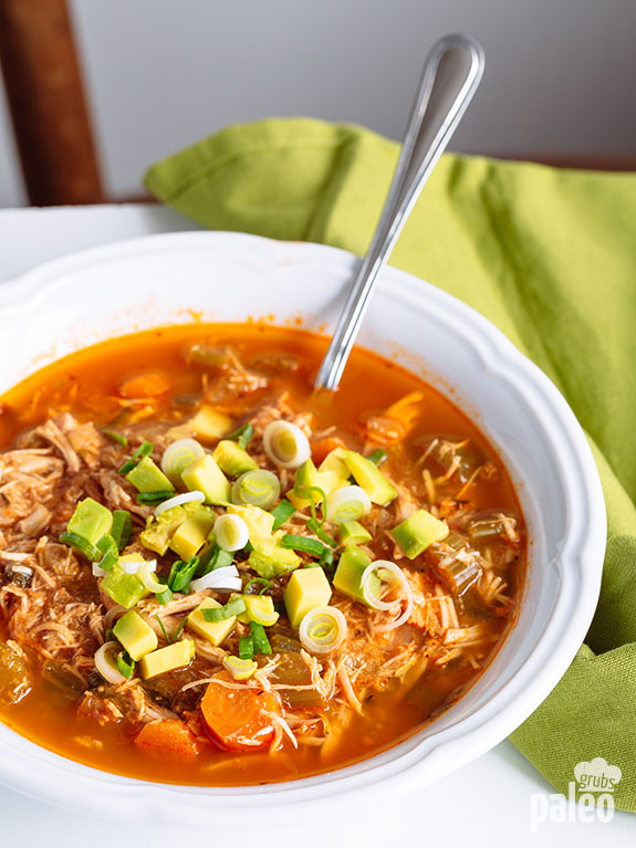 Slow Cooker Chicken Taco Soup