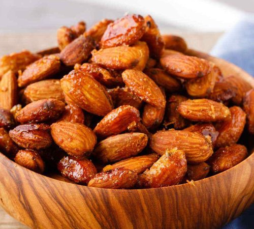 Honey Mustard Roasted Almonds - Easy Protein-Packed Paleo Snack - Paleo  Grubs