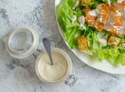 5 Minute Caesar Dressing