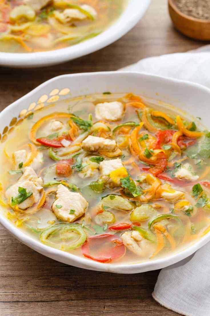 Low Carb Paleo Chicken Soup