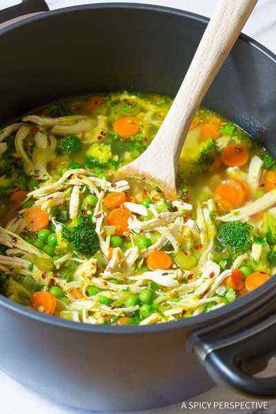 Chicken Detox Soup