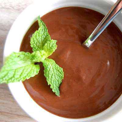 Easy Dark Chocolate Pudding