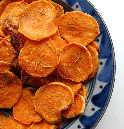 Easy Homemade Sweet Potato Chips