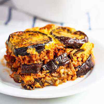 Easy and Budget Friendly Eggplant Beef Casserole