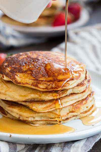 Paleo Buttermilk Pancakes