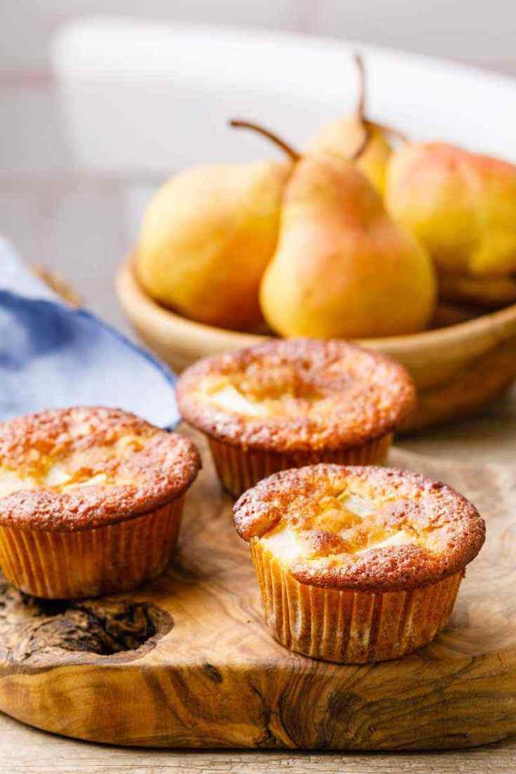 Pear Paleo Muffins