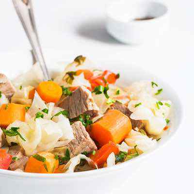 Slow Cooker Beef and Cabbage Stew