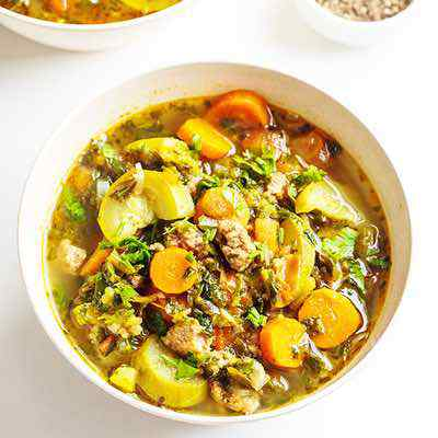 Slow Cooker Italian Sausage Soup