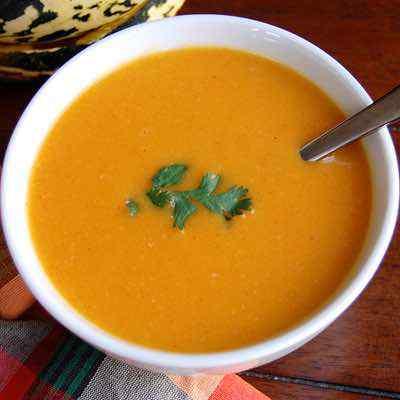 Sweet Dumpling Paleo Squash Soup