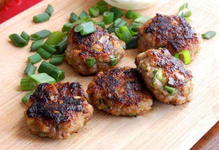 Thai Paleo Pork Meatballs