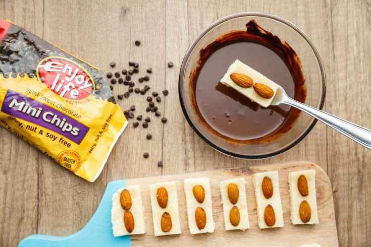 Paleo Almond Joy Candy Bar