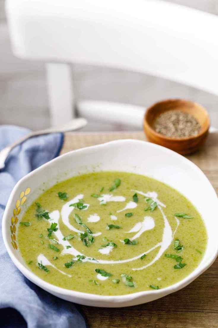 Crockpot Paleo Broccoli Soup