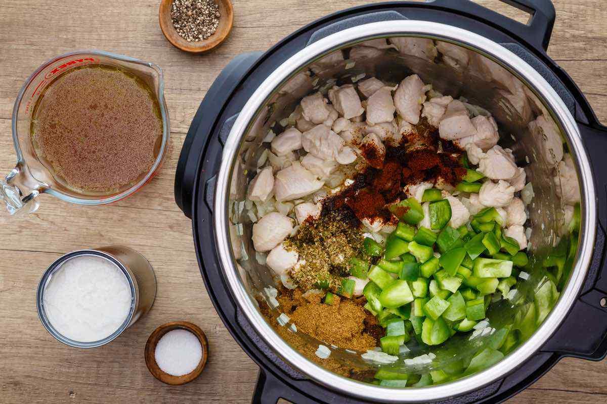 Instant Pot Paleo White Chicken Chili