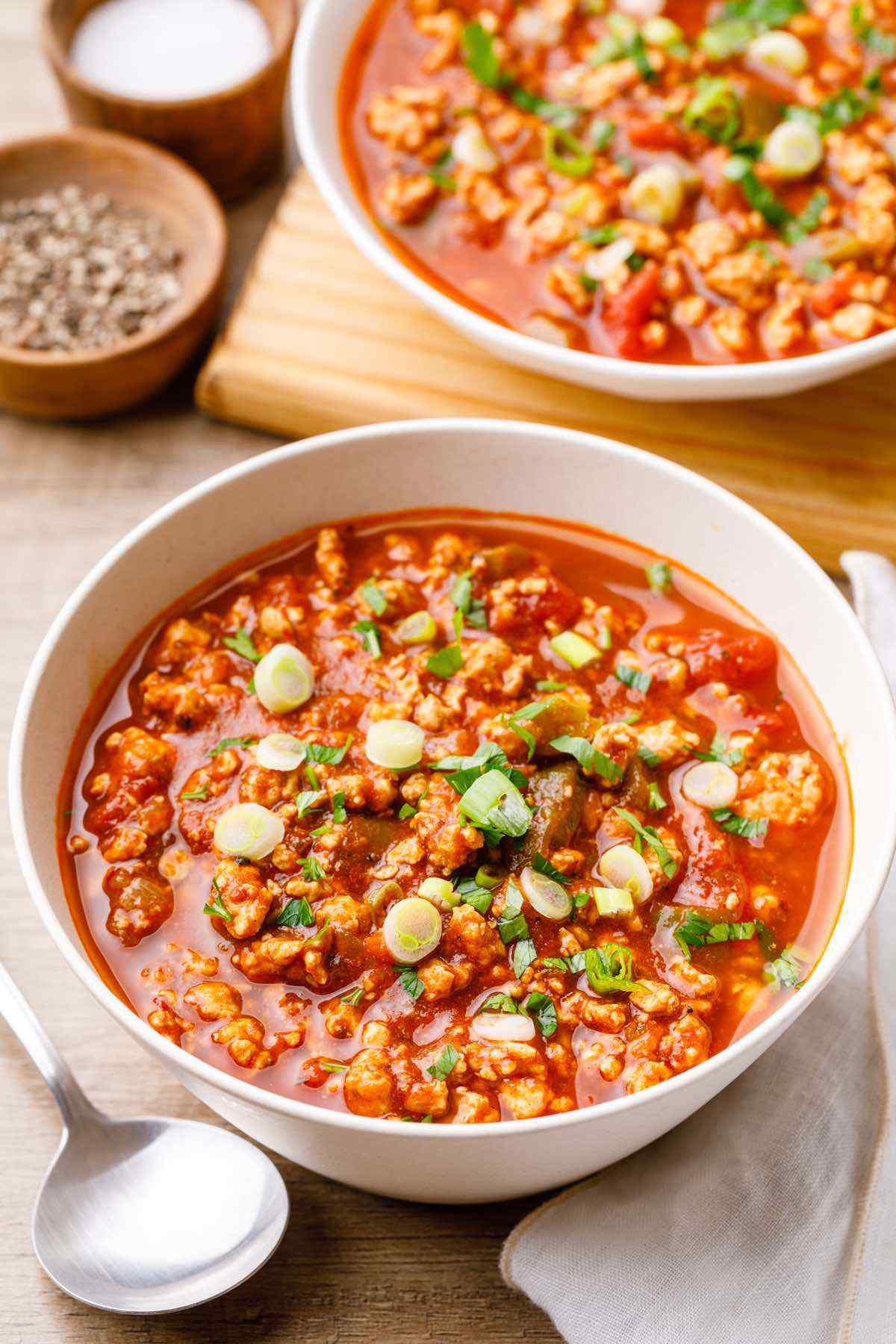 Paleo Instant Pot Turkey Chili