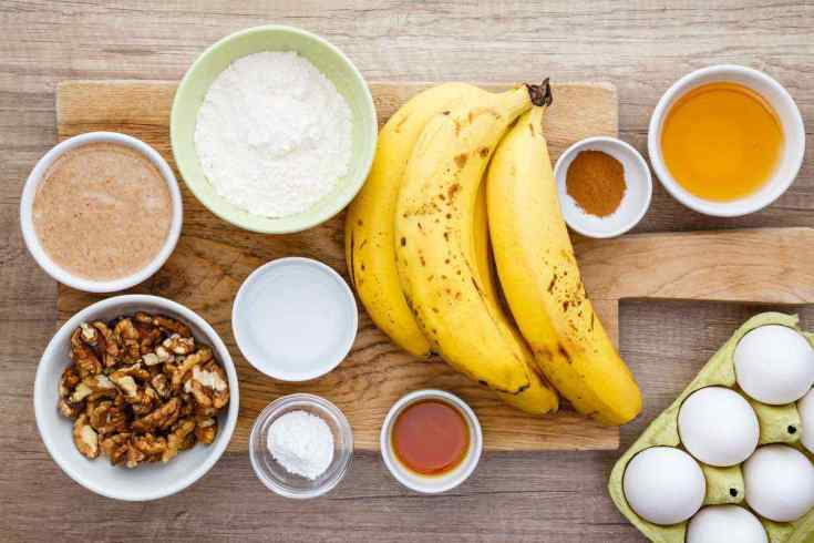 Honey Nut Paleo Banana Bread