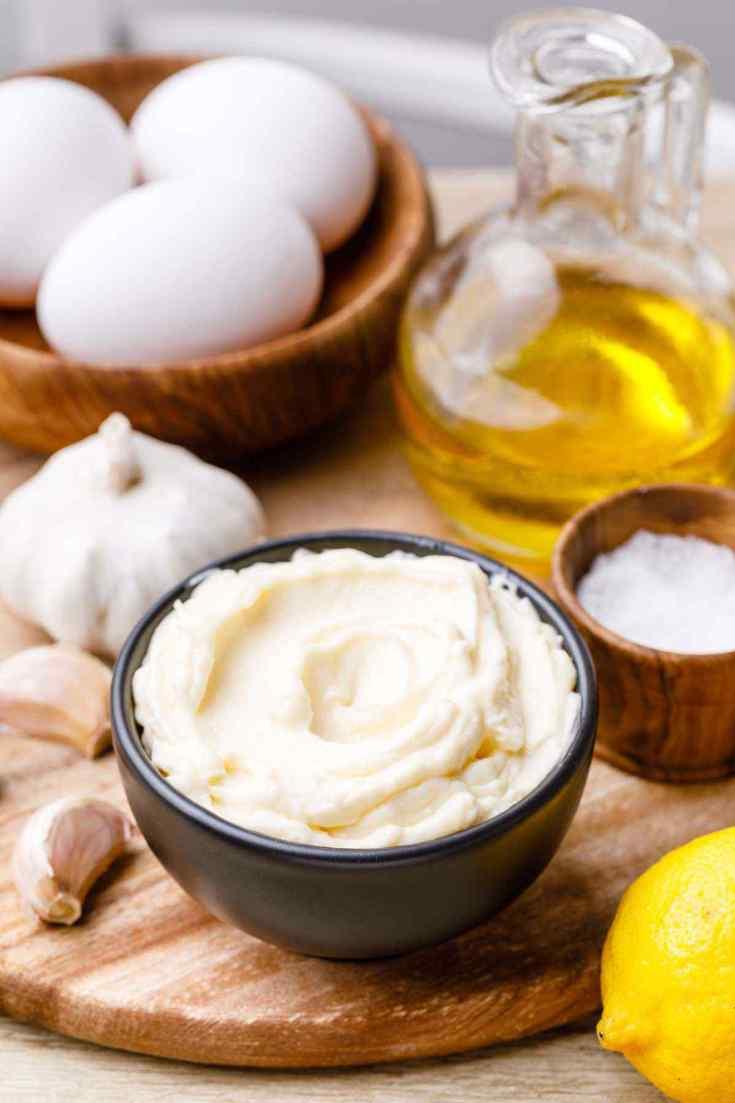 Paleo Garlic Mayo