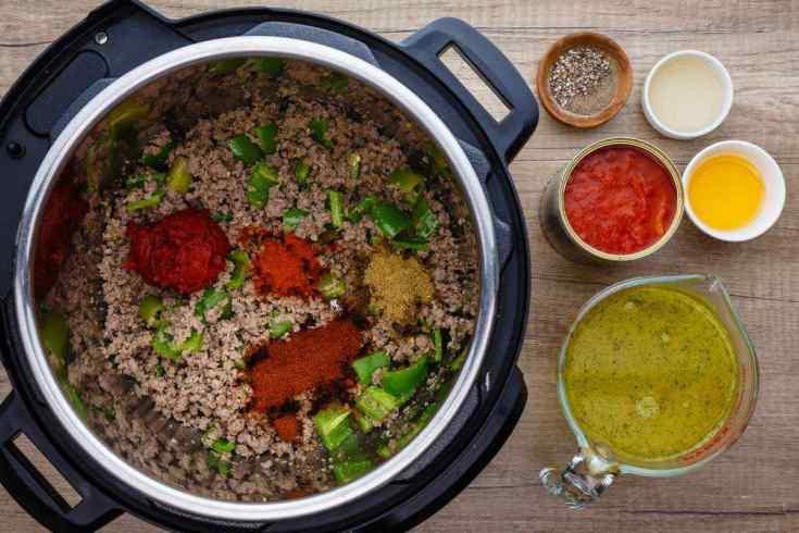 Instant Pot Ground Beef Paleo Chili