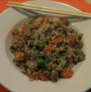 Gingery Beef Fried Rice