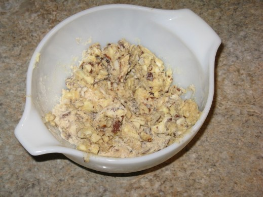 The topping mixture