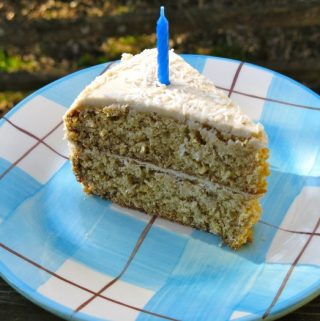 Coconut Cake with Lemon Coconut Frosting