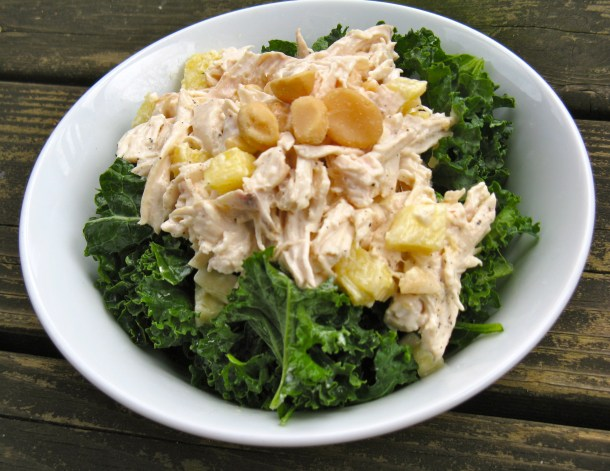 Tropical chicken salad.