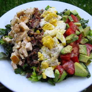 Cobb Salad with Vinaigrette Dressing