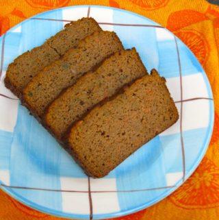 Grain-Free Carrot Spice Bread