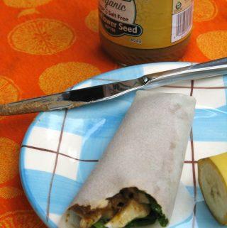Curried Banana Wrap