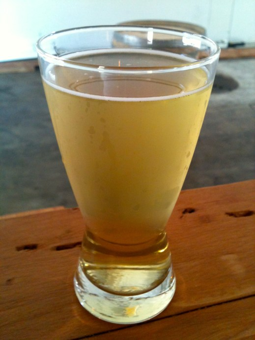 My favorite Reverend Nat's Cider -- the Newtown Pippin. Crisp, refreshing and dry. (Taken on iPhone).