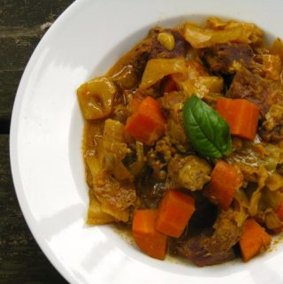 Spicy Curried Beef Stew