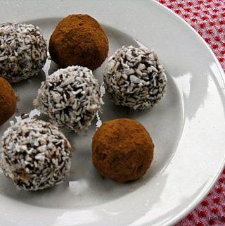 Cacao Surprise Truffles