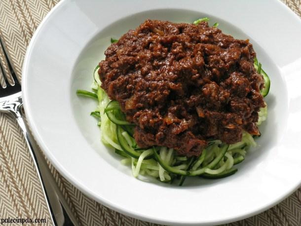 Paleo Cincinnati-style chili