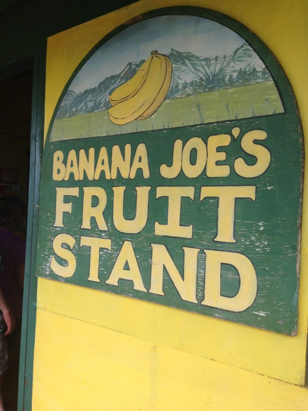 Fruit stands are all over Kauai and a must to stop at!