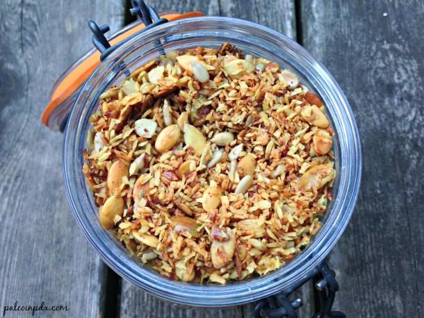 turmeric spice granola