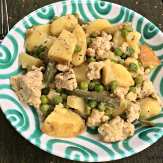 Herbed Turkey Potato Stew