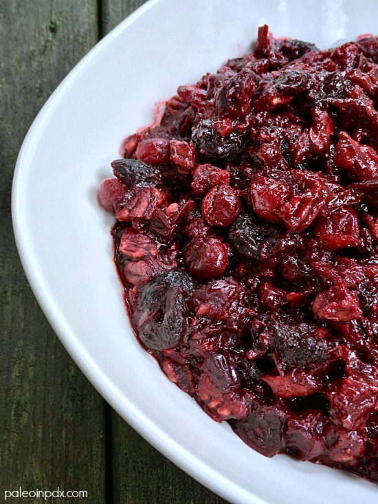 spiced cranberry relish 2