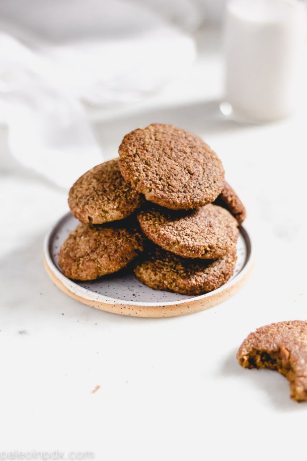 Gingerbread snickerdoodle cookies
