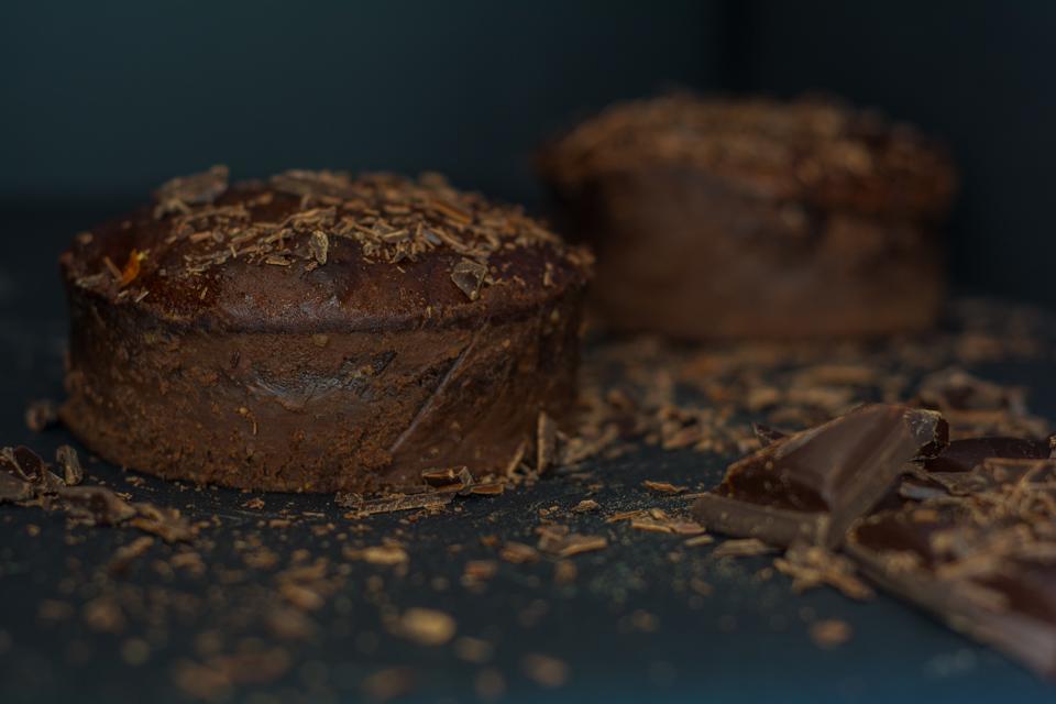 czekoladowa lawa