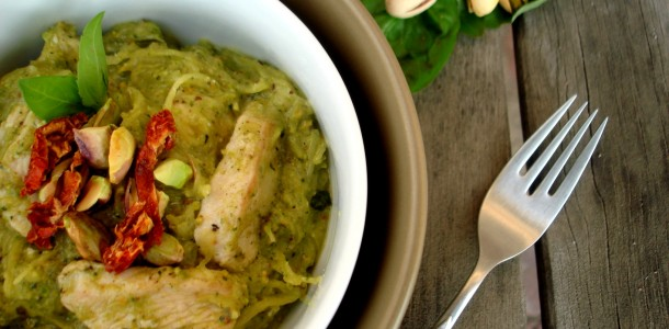 Pistachio Pesto Chicken Pasta