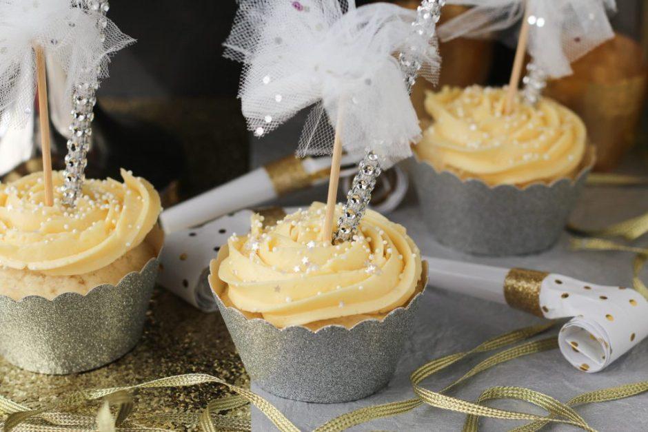 Cupcakes de fin de año