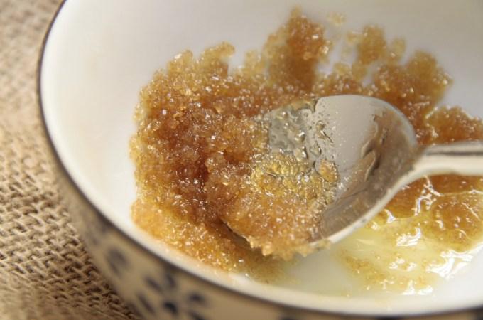 La única receta en la que uso azúcar