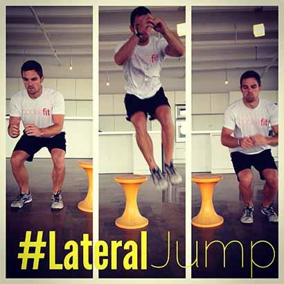 salto lateral