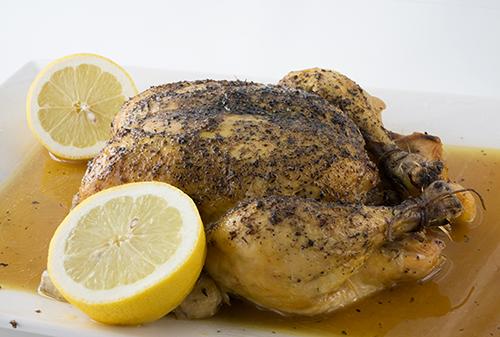 pollo asado con especias, crockpot