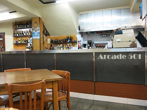 Restaurante Arcade, marisco paleo