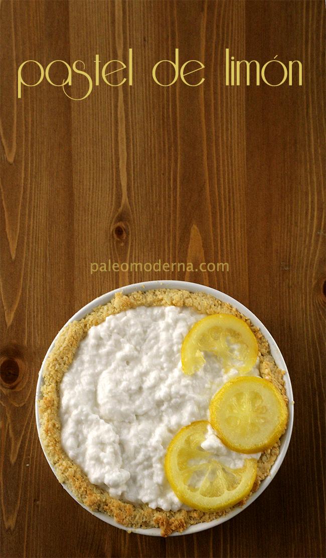 pastel de coco y limón